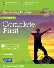 Complete First - Student\'s Book with Answers and CD-ROM - Guy Brook-Hart