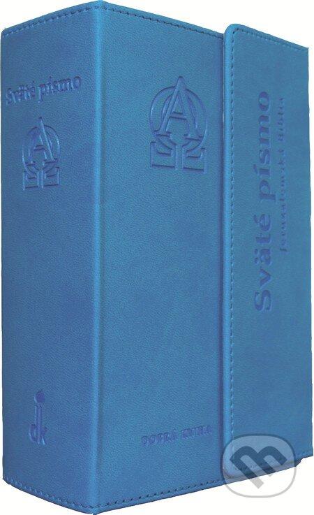 Sväté písmo - Jeruzalemská Biblia (s magnetickou chlopňou a modrotyrkysovou obálkou) -