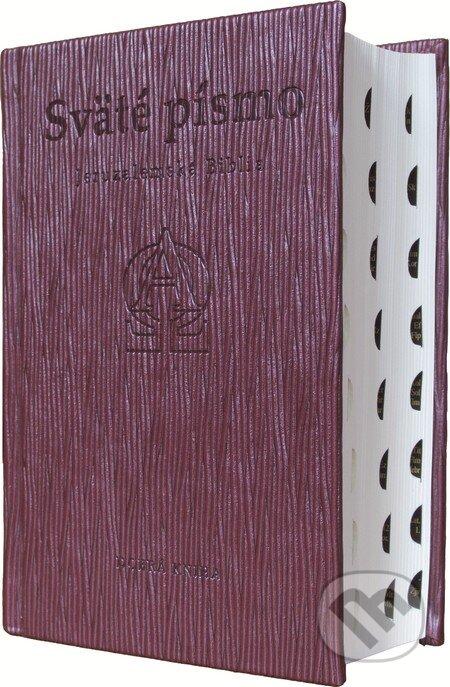 Sväté písmo - Jeruzalemská Biblia (hnedá obálka s reliéfom) -