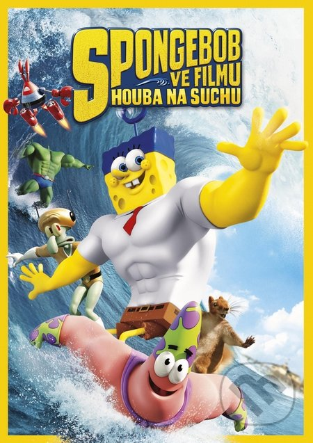 SpongeBob vo filme: Hubka na suchu DVD