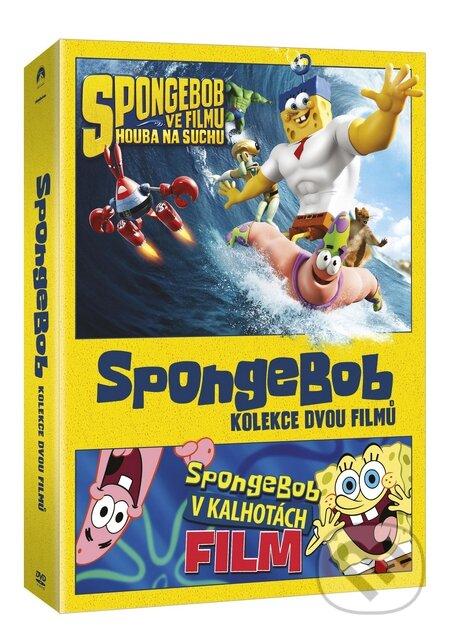 SpongeBob kolekce 1.-2. DVD