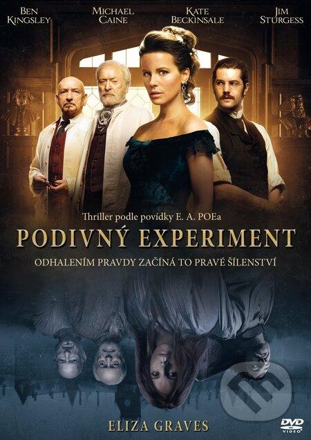 Eliza Graves: Podivný experiment DVD