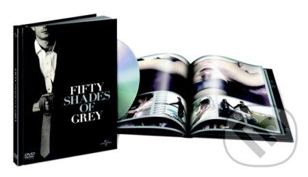 Padesát odstínů šedi Digibook DVD