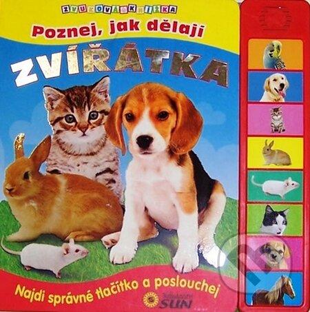 Poznej, jak dělají zvířátka - Zvuková knížka -