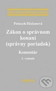 Zákon o správnom konaní (správny poriadok) - Peter Potasch, Janka Hašanová