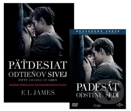 Kolekcia Fifty Shades of Grey DVD