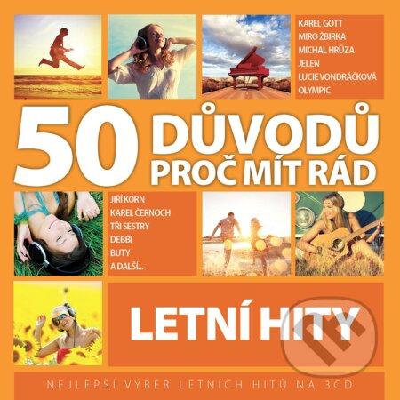 50 Důvodů Proč Mít Rád Letní Hity (Various Artists) -