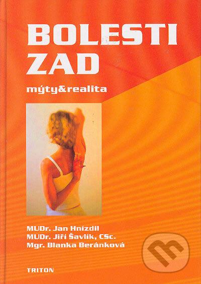 Bolesti zad: mýty a realita - Jan Hnízdil, Blanka Beránková a kolektív