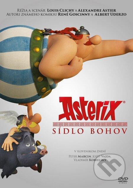 Asterix: Sídlo bohov DVD