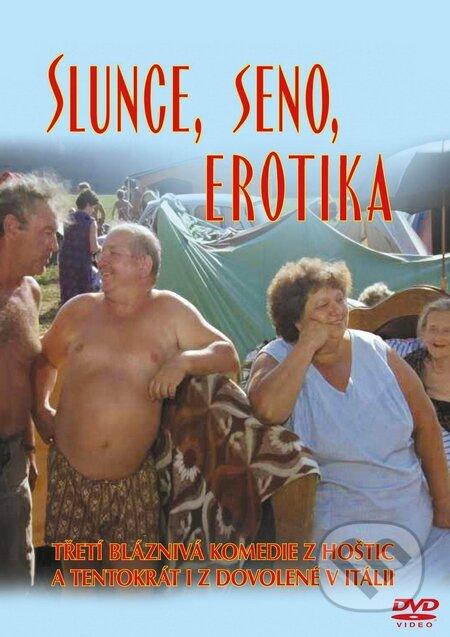 Slunce, seno, erotika DVD