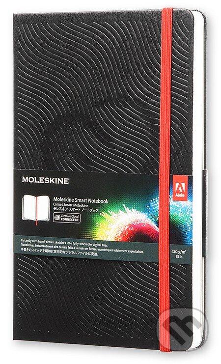 Moleskine – Smart čierny zápisník (spojený s Creative Cloud) -