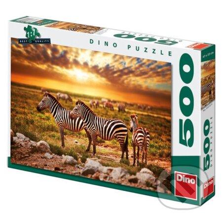 Zebry na poušti -