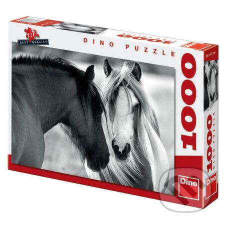 Černobílé koně -