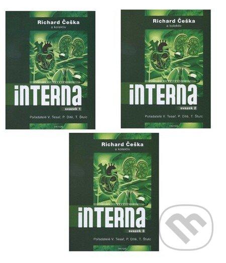 Interna (3 svazky) - Richard Češka a kolektiv