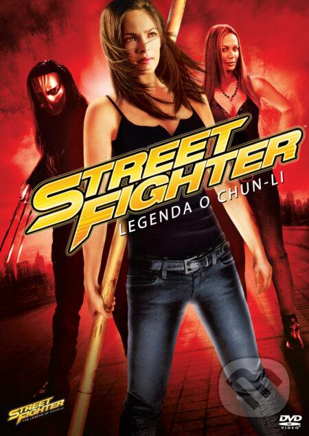 Street Fighter: Legenda o Chun-Li DVD