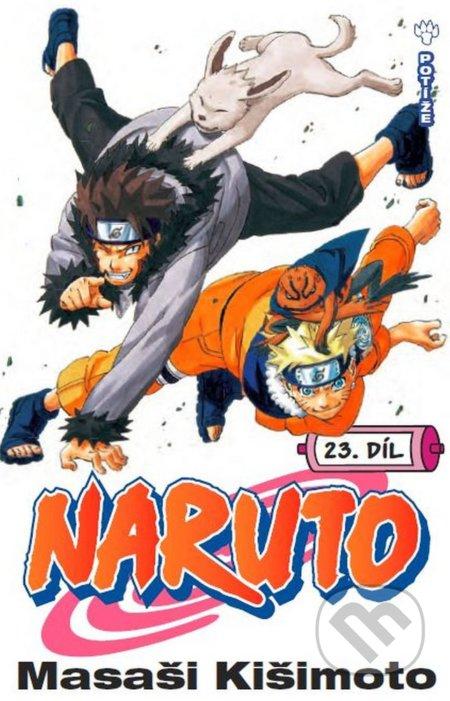 Naruto 23: Potíže... !! - Masaši Kišimoto
