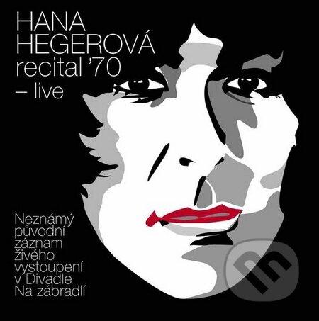 Hana Hegerová: recital ´70 - live - Hana Hegerová