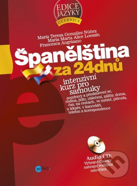 Španělština za 24 dnů - Intenzivní kurz pro samouky - Náhled učebnice