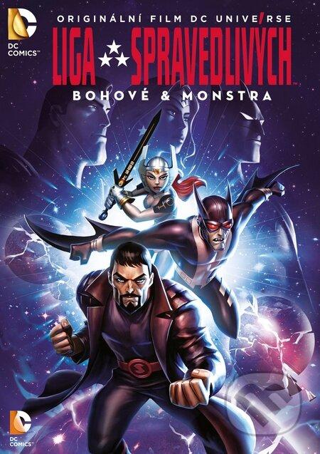 Liga spravedlivých: Bohové & monstra DVD