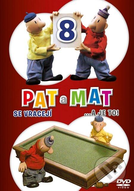 Pat a Mat 8 DVD