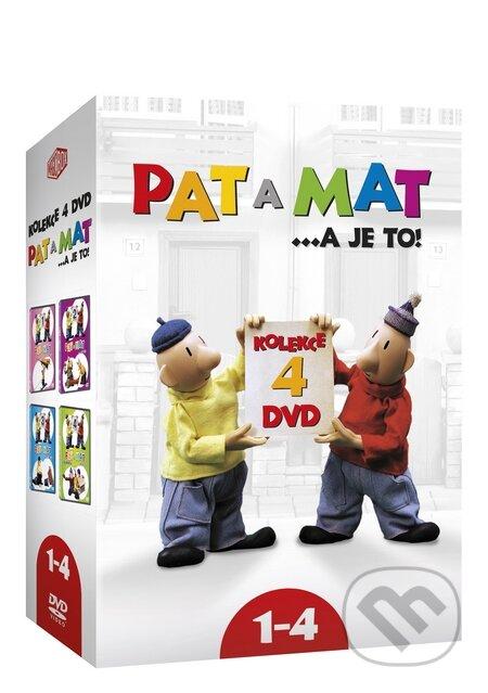 Pat a Mat kolekcia 1-4 DVD