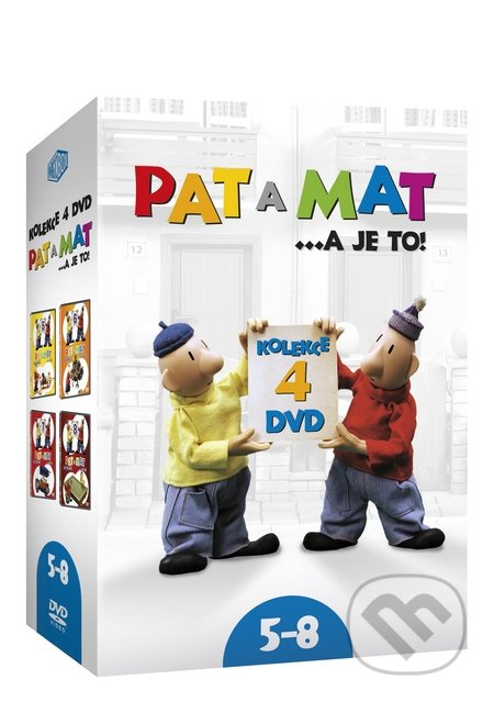 Pat a Mat kolekcia 5-8 DVD