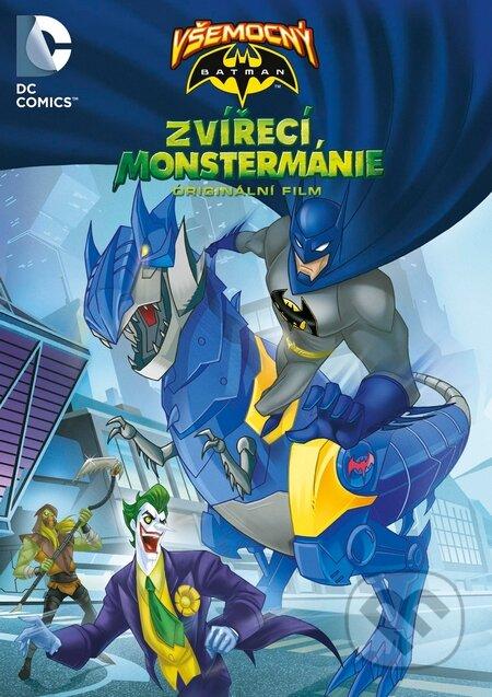 Všemocný Batman: Zvířecí Monstermánie DVD