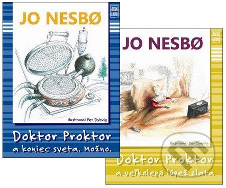 Príbehy doktora Proktora II. (kolekcia druhých dvoch dielov) - Jo Nesbo, Per Dybvig