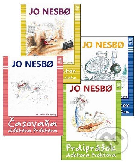 Príbehy doktora Proktora III. (kolekcia štyroch dielov) - Jo Nesbo, Per Dybvig