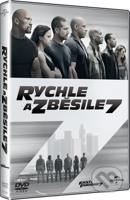 Kolekcia Rychle a zběsile 1 - 7 DVD