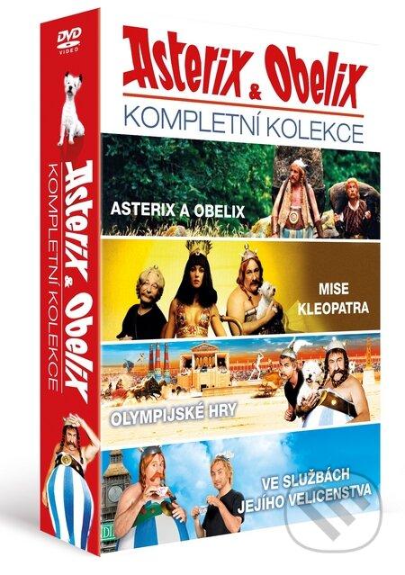Kolekcia Asterix a Obelix DVD