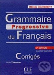 Grammaire progressive du français - Corrigés - Niveau intermédiaire (A2/B1) - Maïa Gregoire