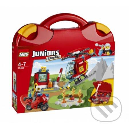 LEGO Juniors 10685 Hasičský kufrík -