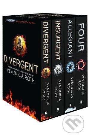 The Divergent Series (Box Set 1 - 4 plus World of Divergent) - Veronica Roth