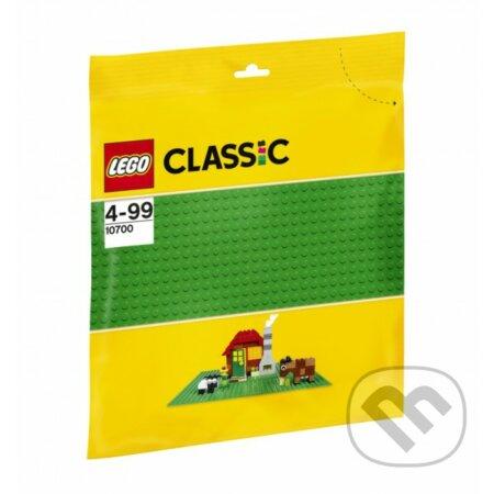 LEGO Classic 10700 Zelená podložka na stavanie -