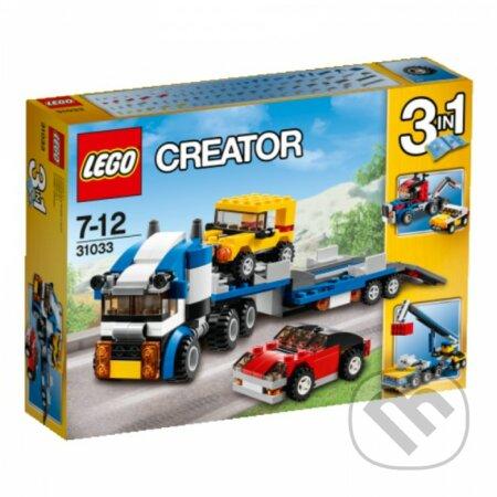 LEGO Creator 31033 Kamión na prepravu áut -