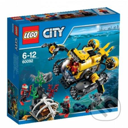 LEGO City 60092 Hlbinná ponorka -