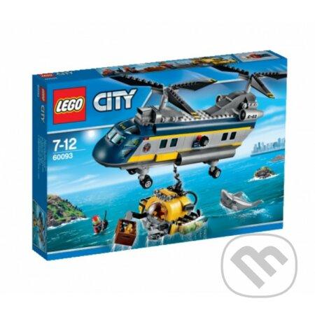LEGO City 60093 Vrtuľník na hlbinný morský výskum -