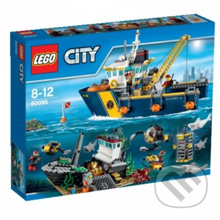 LEGO City 60095 Plavidlo na hlbinný morský výskum -