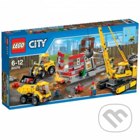 LEGO City 60076 Demolačné práce na stavenisku -