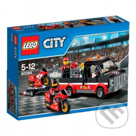 LEGO City 60084 Prepravný kamión na pretekárske motorky -