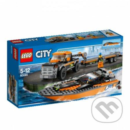 LEGO City 60085 Motorový čln 4x4 -