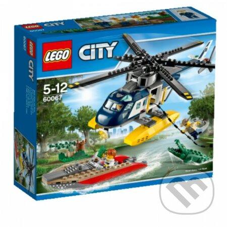 LEGO City Police 60067 Prenasledovanie helikoptérou -