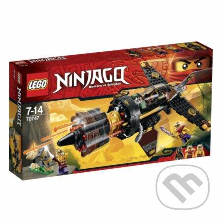 LEGO Ninjago 70747 Strelec balvanov -