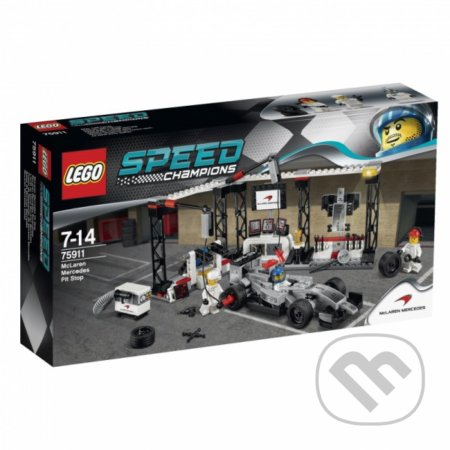 LEGO Speed Champions 75911 Zastávka v boxoch McLaren Mercedes -