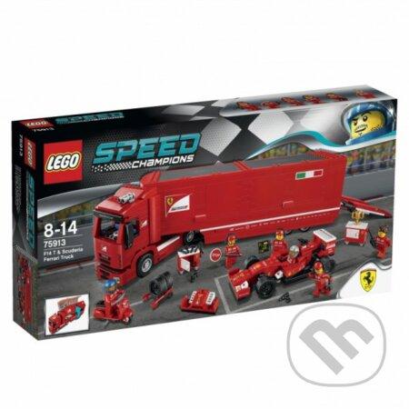 LEGO Speed Champions 75913 Kamión na vozidlo F14 T tímu Scuderia Ferrari -
