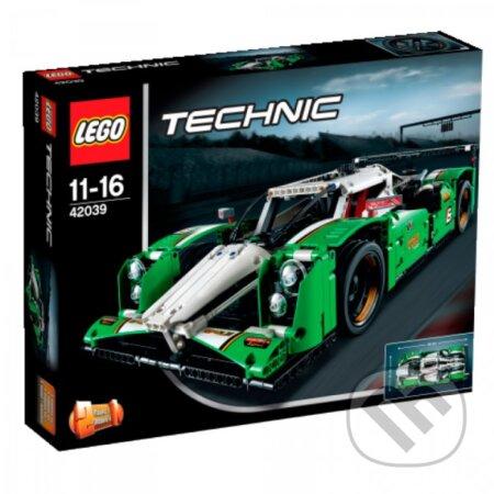 LEGO Technic 42039 GT auto na 24hodinové preteky -