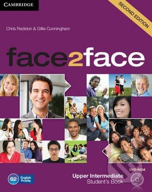 Face2Face: Upper Intermediate - Student\'s Book with DVD-ROM - Chris Redston, Gillie Cunningham