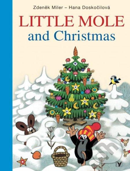 Little Mole and Christmas - Hana Doskočilová, Zdeněk Miler (ilustrácie)