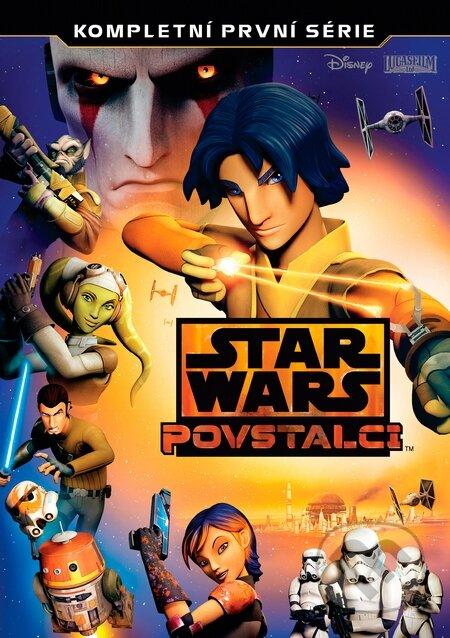 Star Wars: Povstalci 1. série DVD
